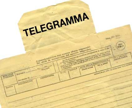 Come Fare Un Telegramma Uip2013